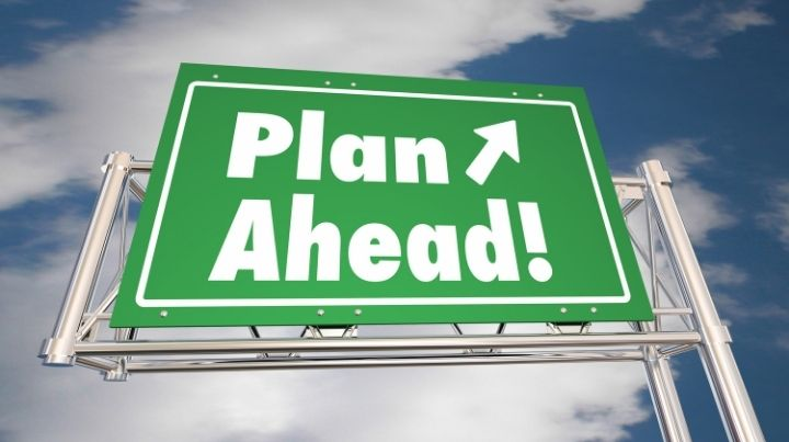 Creating a prepping plan is an important first step