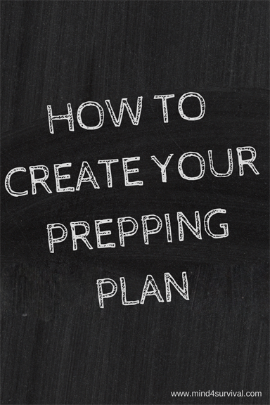 How to Create Your Prepping Plan