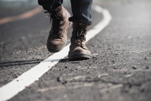 Mind4Survival-Boots-on-Highway