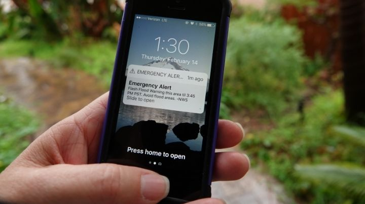 Is the emergency alert system always accurate?