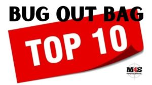 Top ten items you should have in your bug-out-bag
