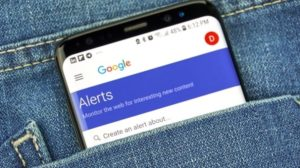 Stay informed with customized news updates using Google keyword alerts