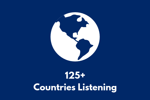 Podcast Page_125 Countries Listening