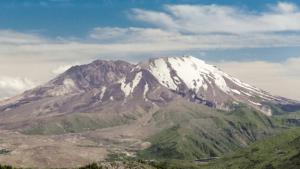 Mount St. Helens Volcano Anniversary