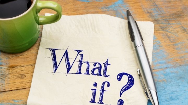 """To experience financial preparedness, we need to ask ourselves """"what-if?"""""""