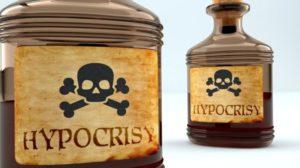 hypocrisy poisoning preparing for survival