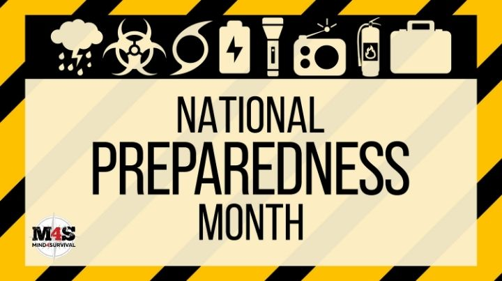 Daily Mini Preps every day of National Preparedness Month