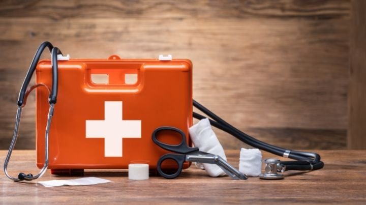 A first-aid kit is a vital key to basic preparedness