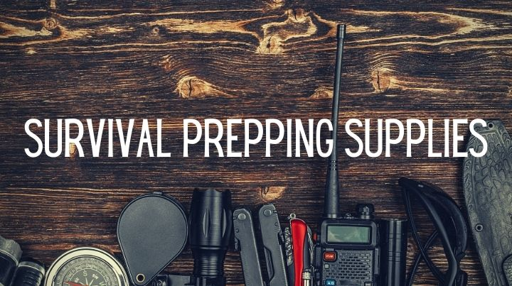 What are the basic survival prepping supplies everyone should have on hand?