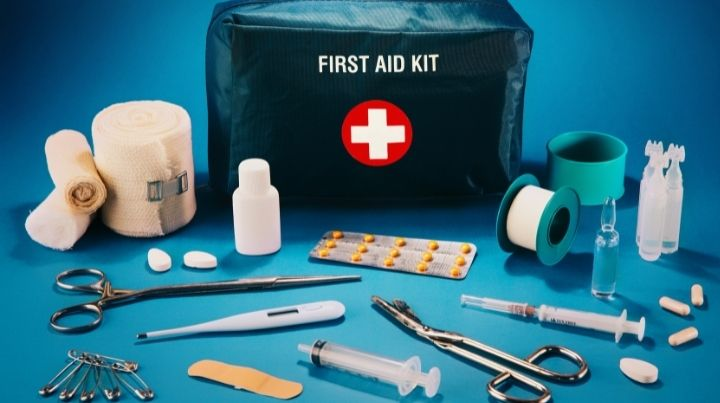 Medical supplies are a must have for any preparedness kit.